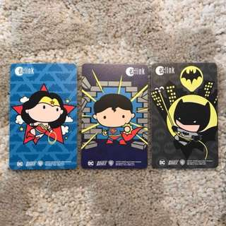 Ezlink Card -Superhero set