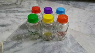 Glass Breastmilk Storage Bottles