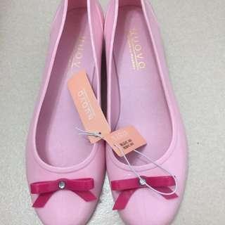 全新雨鞋37號 日本ABC mart購入