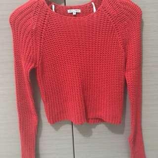 Knit Wear Top in Red