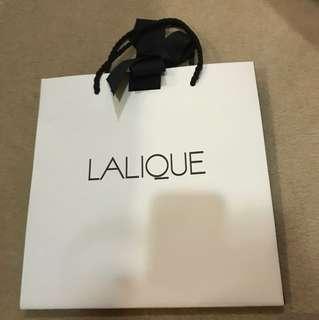 Lalique paperbag