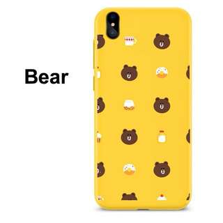 Bear Yellow Case for iPhone, Oppo, and Huawei