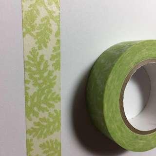 紙膠帶-綠葉🍃