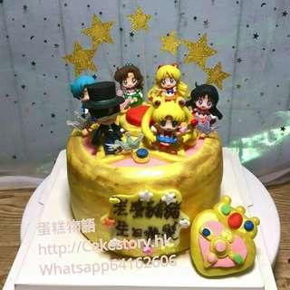 美少女戰士蛋糕