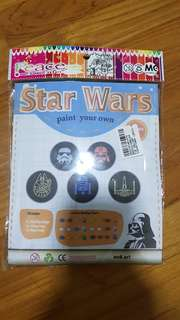 Star Wars paint your own kit
