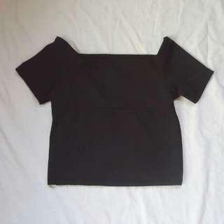 Black off shoulder