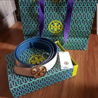 Authentic Tory Burch Reversible Belt