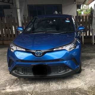 BRAND NEW TOYOTA CHR HYBRID RENTAL