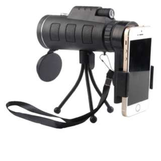 40X60 monocular zoom lens for hand phone