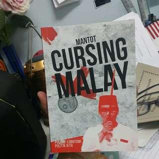 Malay Novel: Cursing Malay - Buku 1 by MANTOT #MY1212