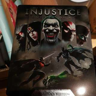 Injustice Gods Among Us PS3 Collector's Edition