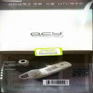 QCY Bluetooth earphone