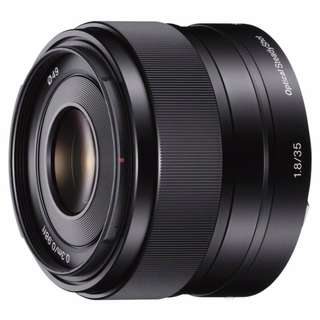 Sony 35mm F1.8 OSS ( Apsc E-Mount )