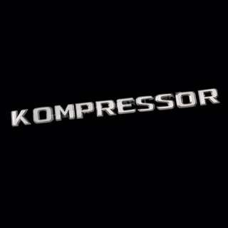 Kompressor Lettering for Mercedes Benz