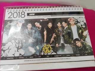 EXO 2018 & 2019 CALENDER [UNOFFICIAL]