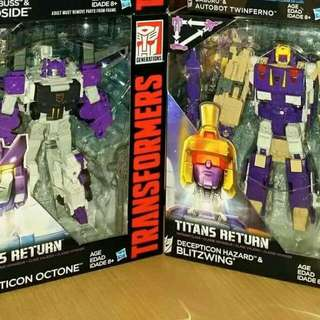 Transformers Titans Return  Blitzwing Octone