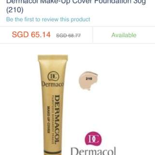 Dermacol very strong foundation