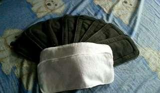 Preloved Alva 3.0 Cloth Diaper and Inserts