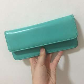 Blue Green Wallet