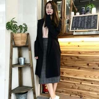冬天最夯格子裙~