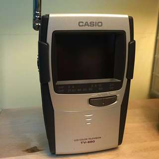 Casio Portable LCD TV
