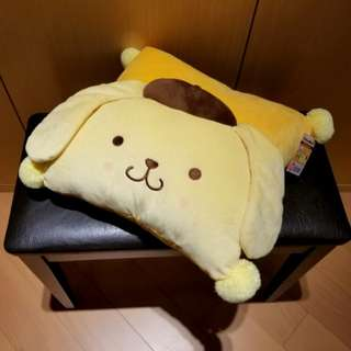 布甸狗 暖手Cushion Sanrio Pompompurin Hand Rest Cushion