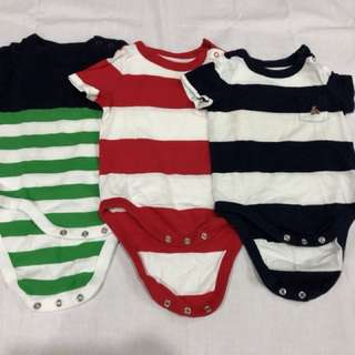 3 packs Baby gap romper