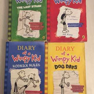 Wimpy kid story book for sale