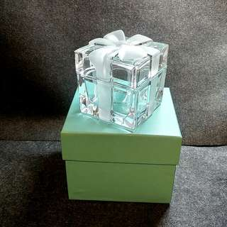 Tiffany Crystal Gift Box