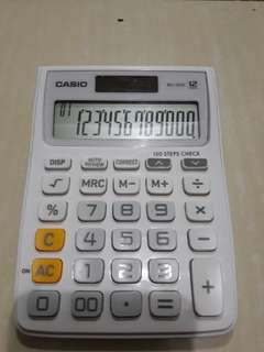 Calculator 12 digit with check and correct