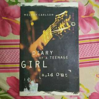 """Diary of a Teenage Girl: Sold Out"" by Melody Carlson"