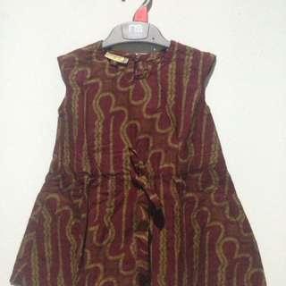 Batik parang dress 1 tahun