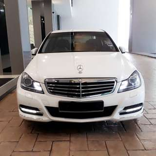 Mercedes Benz C200 for rent