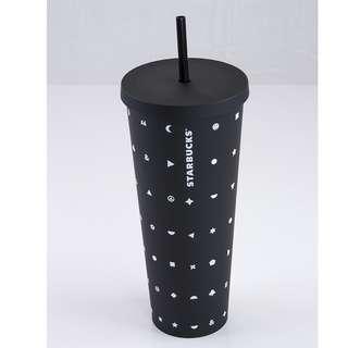 Starbucks 星巴克不鏽鋼隨行杯 Venti 24oz 特大杯
