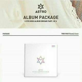 [GROUP ORDER] ASTRO - DREAM PART 02 (With Ver.)