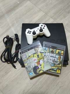 Used PS3 Console with Games