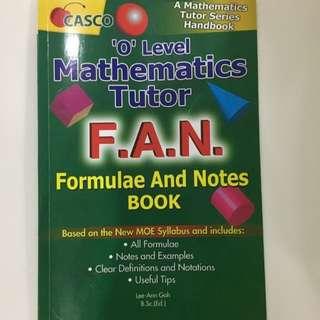 O Level Mathematics Guidebook