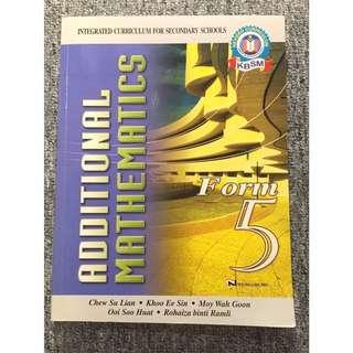 New Add Math textbook
