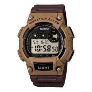 Casio W-735H-5A Sports Brown Watch for Men and Women - COD - FREE SHIPPING