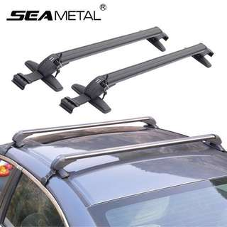Universal roof rack  with free Yakima quick release bike holder. With keys.