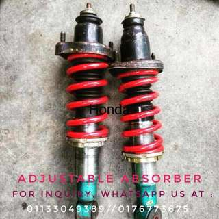 Adjustable absorber