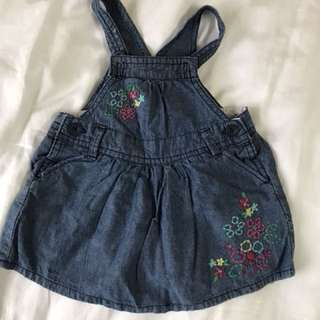 Osh kosh b'gosh overall dress