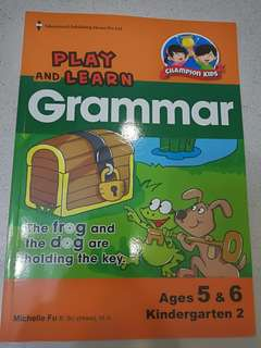 Play and learn grammar