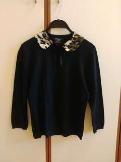 Clips women knite top made in Italy