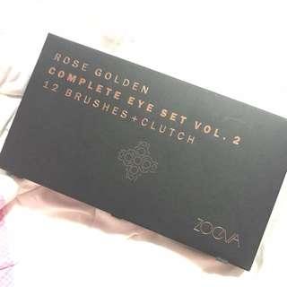 Zoeva Rose Golden Complete Eye Set Vol 2 Brush