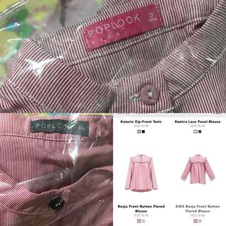 Poplook Matching mommy daughter Deeja blouse.