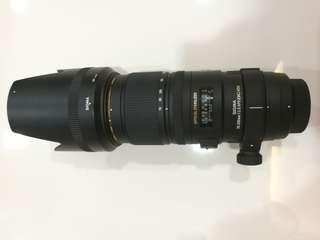 Sigma 70-200mm F2.8 APO EX DG OS