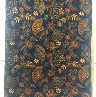 Kain batik ukuran 2,5m x 1,15m