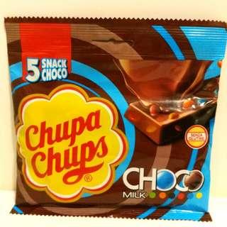 意大利帶回 Chupa Chups 珍寶珠 朱古力棒 5條裝 5 Snack Choco bar