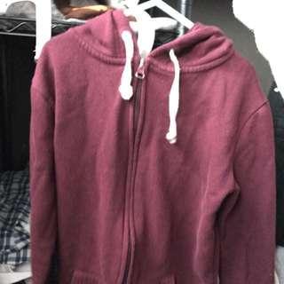 supre Burgundy Jacket